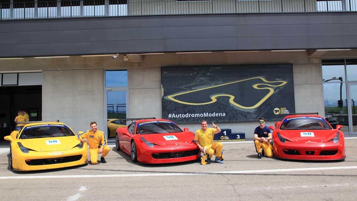Incentive Sports Car Tour Ferrariland, drivers