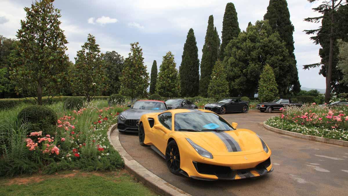 Incentive Sportwagentour Ferrariland Sportwagen