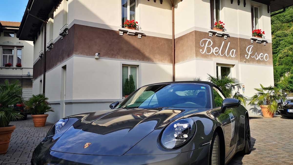Incentive Sportwagentour Ferrariland Ristorante Bella Iseo