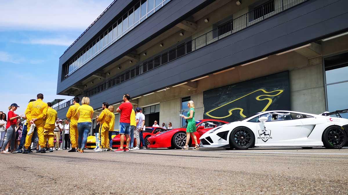 Echtes Testfahrer-Feeling im Autodromo di Modena