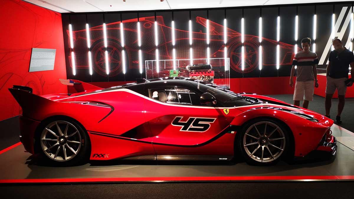 Incentive Sportwagentour Ferrariland Museum