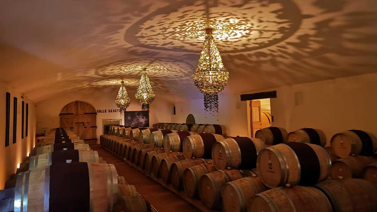 Incentive Sports Car Tour Ferrariland, wine cellar
