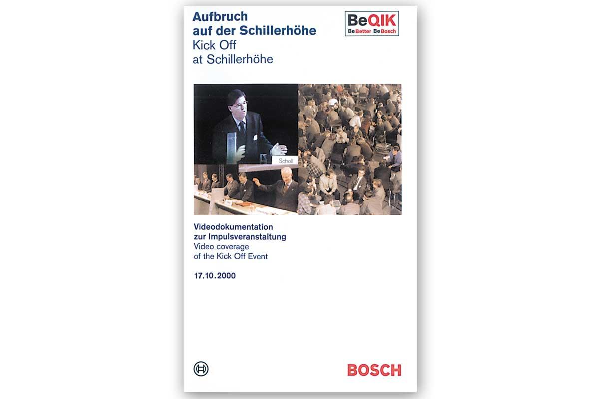 World wide kick-off Bosch BeQIK, video documentation