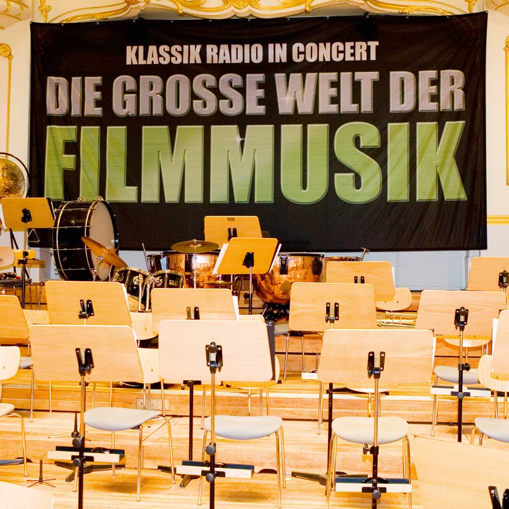 Public Event Klassik Radio, the big world of film music
