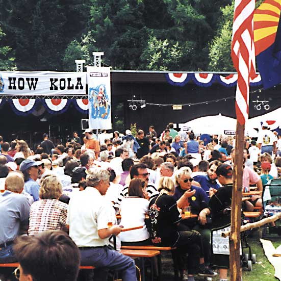 Public-Event Westernstadt Angel
