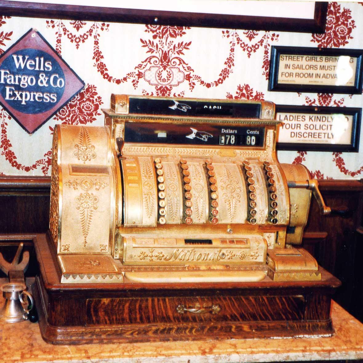 Public Event Westernstadt: original Kasse