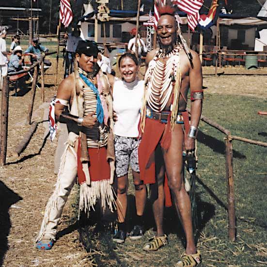 Public Event Westernstadt: Echte Indianer treffen