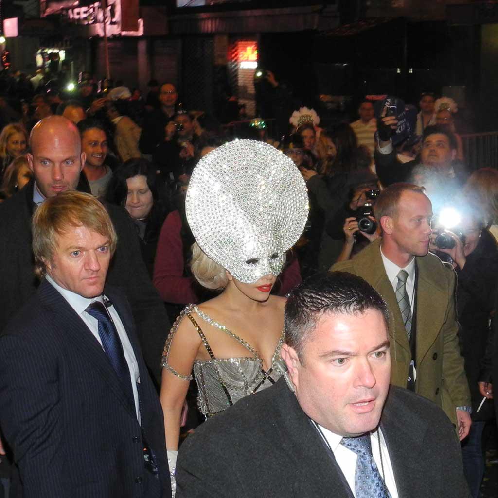 Team Event Buderus NYC Lady Gaga Times Square