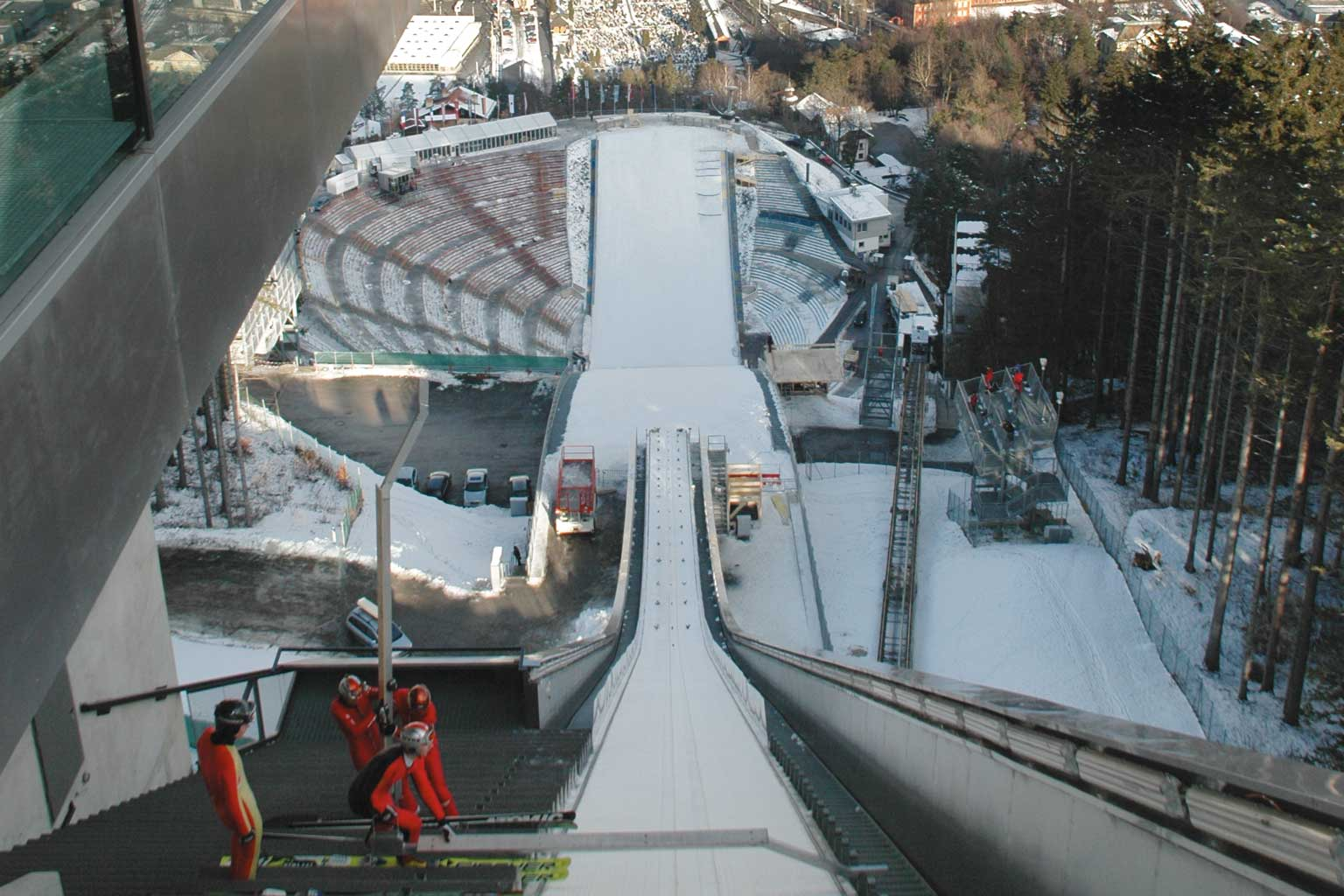 Team Event Four Hills Tournament Buderus ski jump